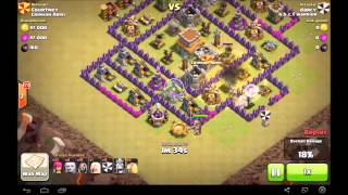 Clash of Clans | B.B.F.C Warrior Raids Various Troops