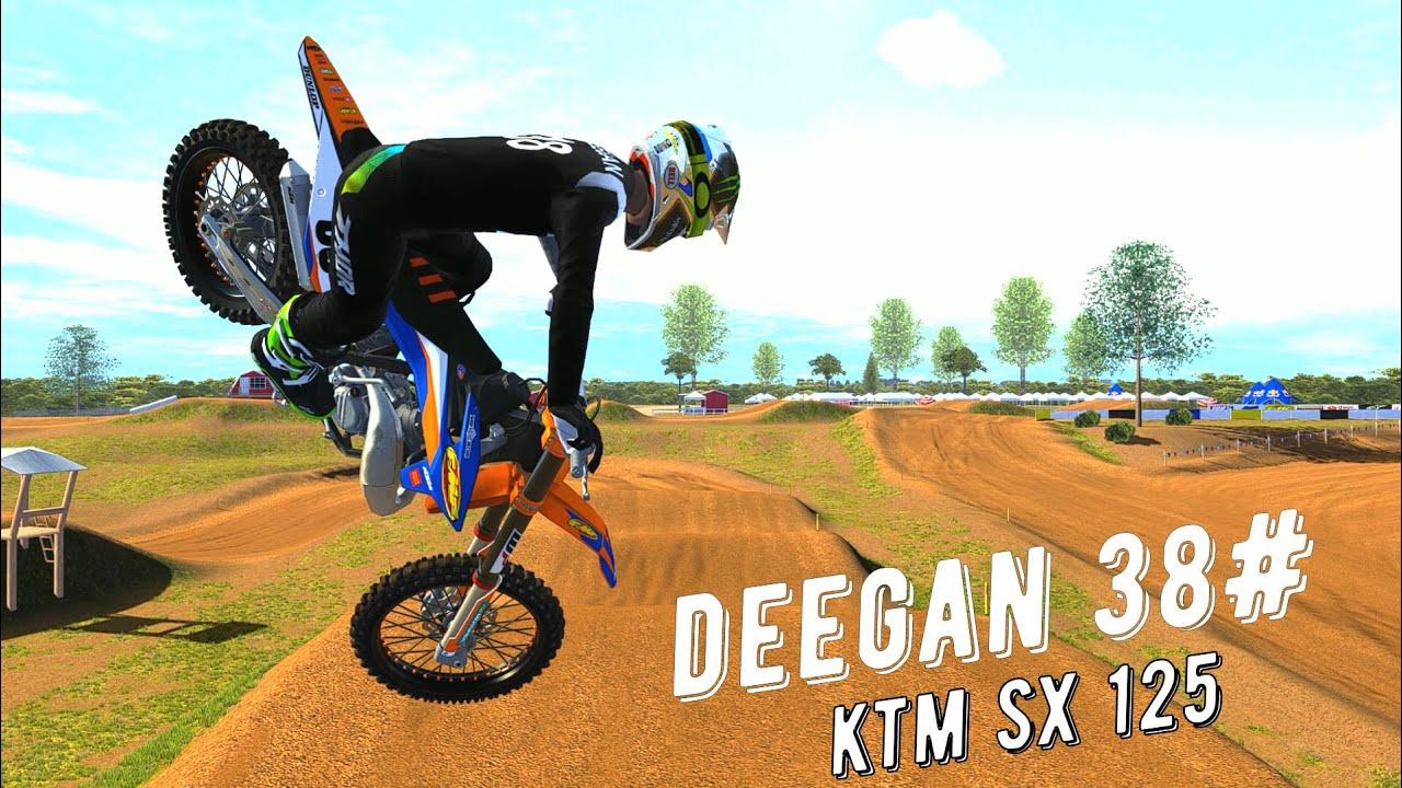 Deegan 38 - KTM SX125 Gameplay 2021 - MXBIKES