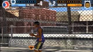 NBA Street Showdown (PSP) gameplay