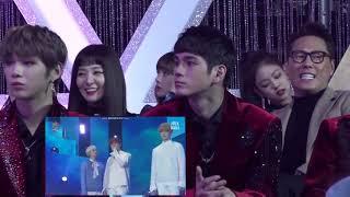 Video KANG DANIEL SEULGI LISA ONG SEONGWOO JENNIE REACTION TO BTS - outro: Her + Spring Day download MP3, 3GP, MP4, WEBM, AVI, FLV Juli 2018
