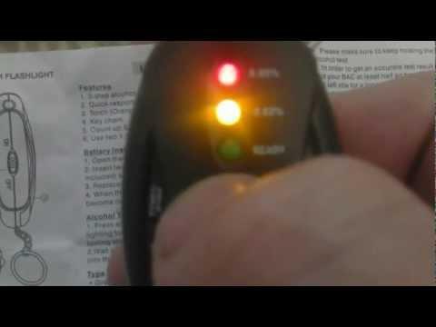 Digital LCD Alcohol Tester Analyzer Breath TOMTOP