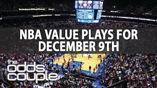 NBA Betting Odds & Predictions I Friday Dec. 9th