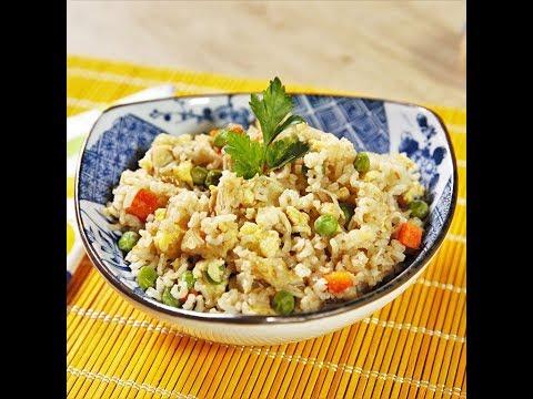 Stir fry cu orez pui și legume