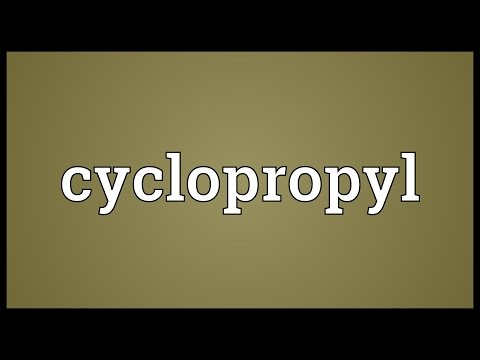 Cyclopropyl Meaning