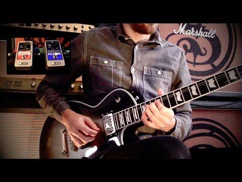 Prog Rock Guitar Solo Improvisation (With EHX Pedals) - Josh Middleton