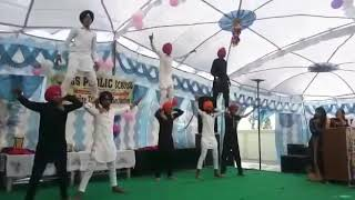 GS Public School , 12th Class Bhangra Performance