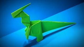 Origami Dinosaur | How to Make a Paper Dinosaur Parasaurolophus | Easy Origami ART | Paper Crafts