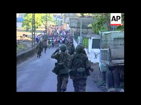 Comoros - Counter-coup