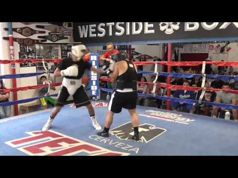 top prospect nick arce sparring at westside boxing EsNews Boxing