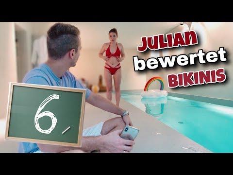 Julian bewertet meine BIKINIS 👙 | Bibi