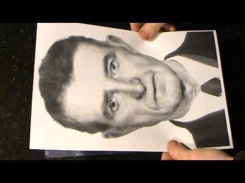 видео: Гравировка портрета на граните. Урок-2