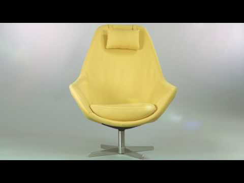 Kendra Contemporary Arm Chair Yellow