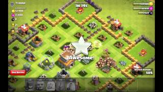 Coc worst town hall 8 base ever
