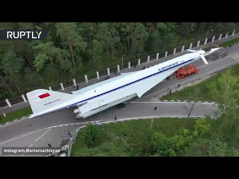 شاهد: طائرة -تو 144- في شوارع مقاطعة موسكو  - نشر قبل 4 ساعة