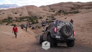 2021 Ford Bronco Testing | Escalator at Hell's Revenge | Moab, Utah