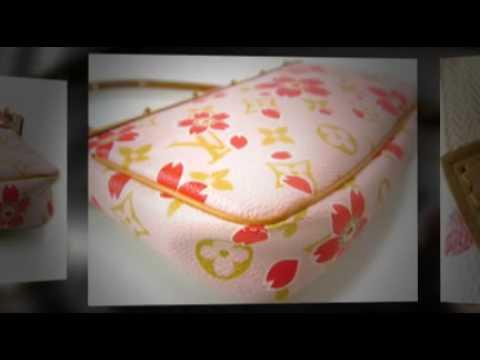 98b0a046c52f Authentic LOUIS VUITTON Cherry Blossom Pochette Red Accessories on Ebay