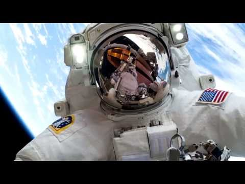 Astronaut Mike Hopkins' #Selfie is up for a Shorty Award