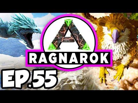 ARK: Ragnarok Ep.55 - SCION OF NATURE, MEGAPITHECUS, & YETI DINOSAURS!!! (Modded Dinosaurs Gameplay)