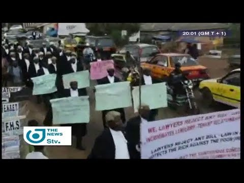 STV NEWS 08:00 PM - (BAMENDA : COMMON LAW LAYERS HAVE RESUME