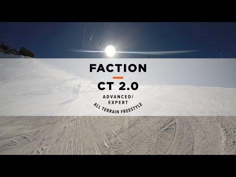 Faction Candide 2.0 Slopeside Ski Review 2016 / 2017 | Ellis Brigham