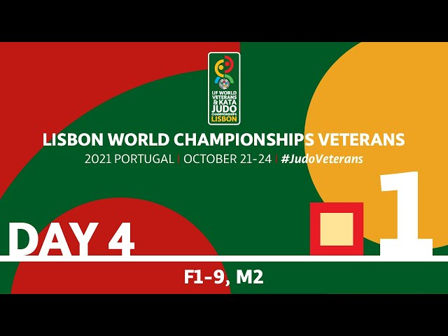 Day 4 - Tatami 1: World Championships Veterans 2021