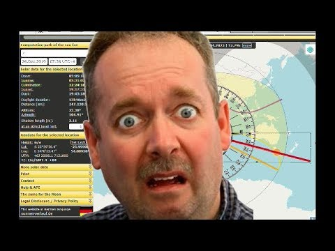 Ball Earth Flat Earth Solar Eclipses And Sticky-Poo thumbnail