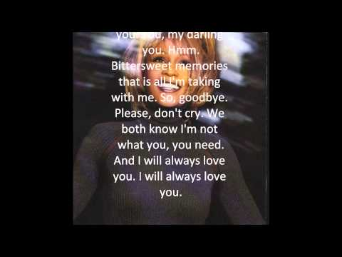RIP Whitney Houston - I Will Always Love You [HD Best Quality Available]