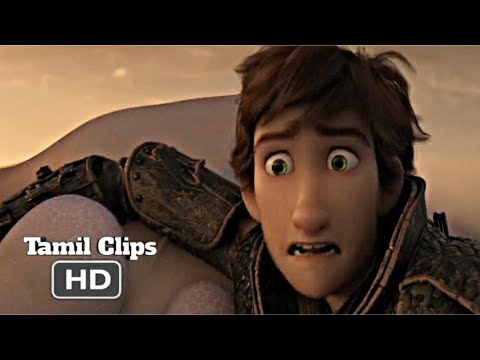 How to Train Your Dragon 3 (2019) - Hiccup Saves Toothless Scene Tamil 8   Movieclips Tamil