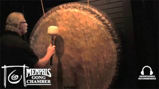 "Paiste 60"" Sound Creation Earth Gong - Played by Michael Bettine at Memphis Gong Chamber"