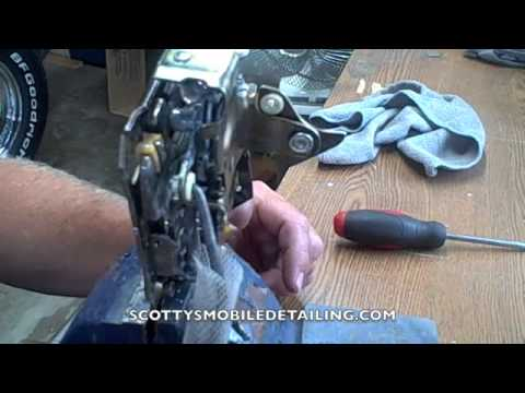 How a chevy door latch works - YouTube