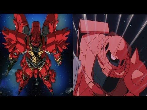 Mobile Suit Gundam  Char's Attack Comparison