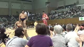 Sumo-Toyota Basho 2017.08.01 大相撲豊田場所 平成29年地方巡業.