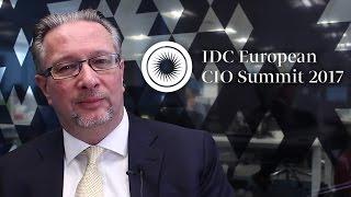Thomas Meyer introduces the IDC European CIO Summit 2017