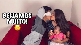 DESAFIO DO BEIJO | KISS CHALLENGE VALENDO 50 REAIS