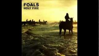 Foals Milk and Black Spiders.