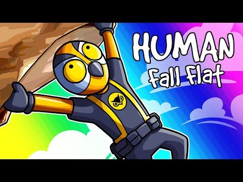 Human Fall Flat Funny Moments - Tom Cruise Got Nothing On Me!