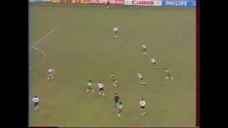 ENGLAND CAMEROON 3 2 ALL THE GOALS WORLD CUP FOOTBALL ITALIA 1990