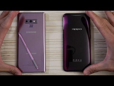 Samsung Galaxy Note 9 vs Oppo Find X - Speed Test!