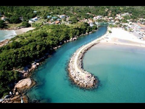 Praia da Barra da Lagoa, para muitos a melhor praia de Floripa!