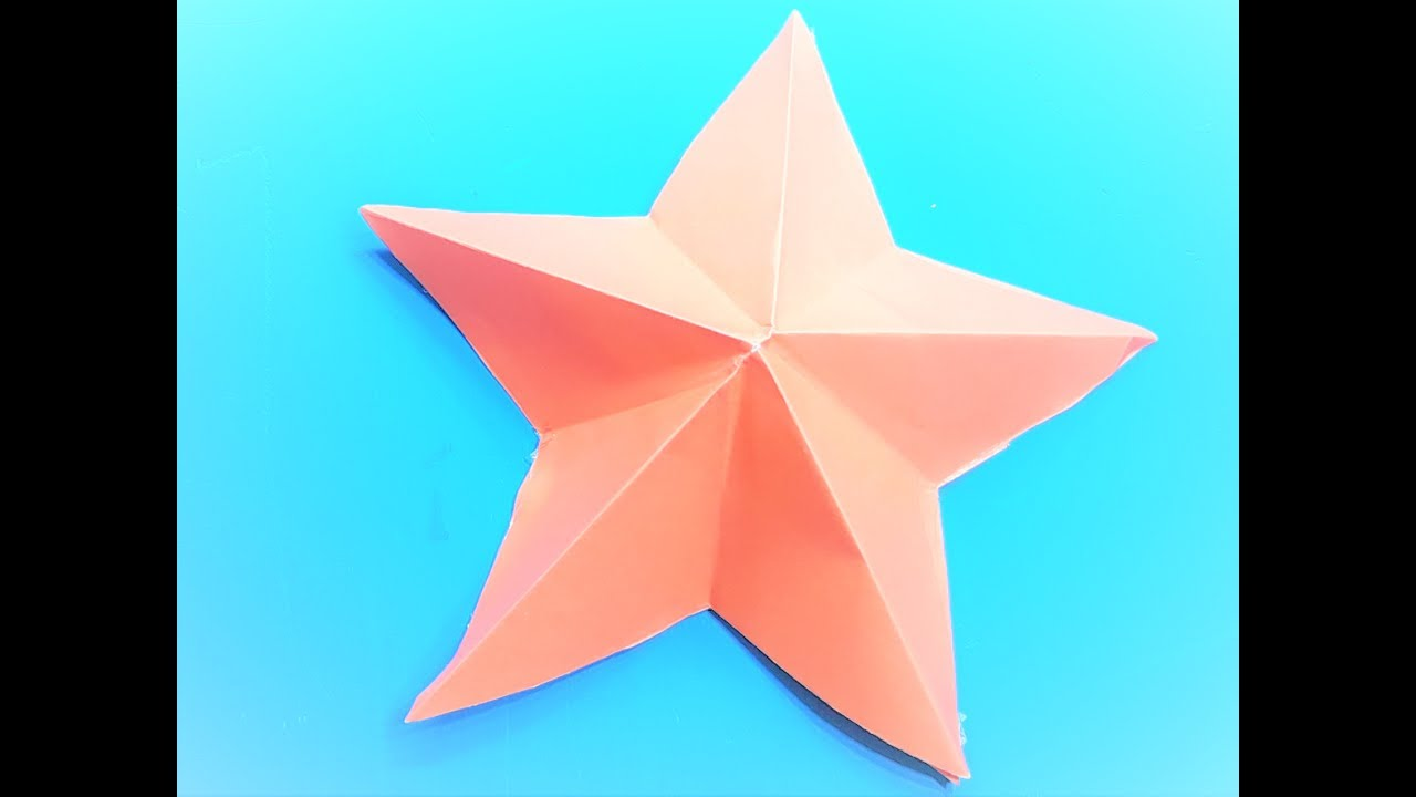 How To Make An Easy Paper Star Origami Stars For Beginners