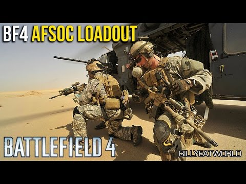 Battlefield 4 (PS4) - US AFSOC Loadout - SCAR-H SV + M9 (BF4 Gameplay)