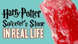Harry Potter's Sorcerer's Stone in REAL LIFE!