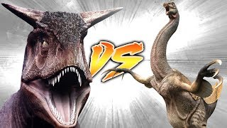 Therizinosaurus VS Carnotaurus [Who Would Win?]