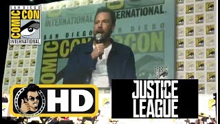 Ben Affleck confirms he LOVES playing Batman at JUSTICE LEAGUE Hall H  - #SDCC 2017