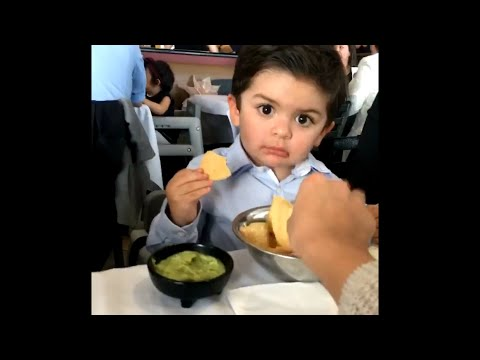 Kid Doesn't Like When Others Eat His Chips