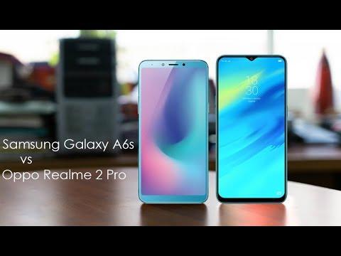 Samsung Galaxy A6s vs Oppo Realme 2 Pro - 2018