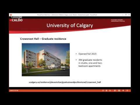 Admission Webinar- Univ. Calgary, Laval, Western and Saskatchewan