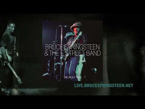 """Bruce Springsteen """"Goin' Back"""" Live at The Roxy, Oct. 18th, 1975"""