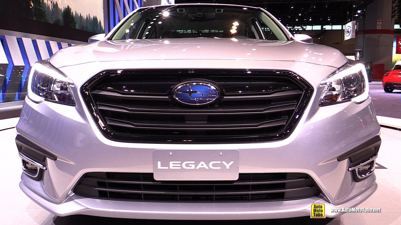 2018 Subaru Legacy - Exterior and Interior Walkaround - 2017 Chicago Auto  Show