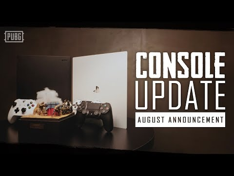 PUBG Console Update - August Announcement